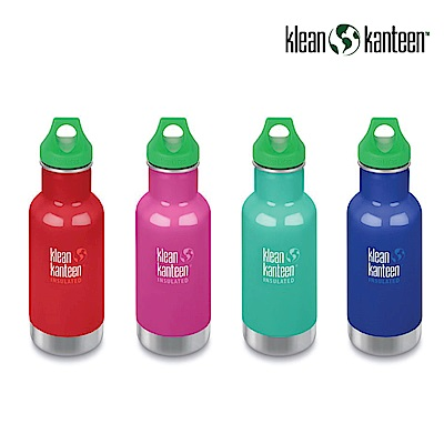 美國Klean Kanteen 幼童窄口不鏽鋼保溫瓶-355ml