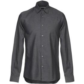 《期間限定セール開催中!》PRIMO EMPORIO メンズ シャツ 鉛色 S コットン 100%