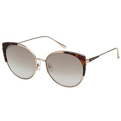 VEDI VERO 小貓眼 太陽眼鏡 (金配琥珀)