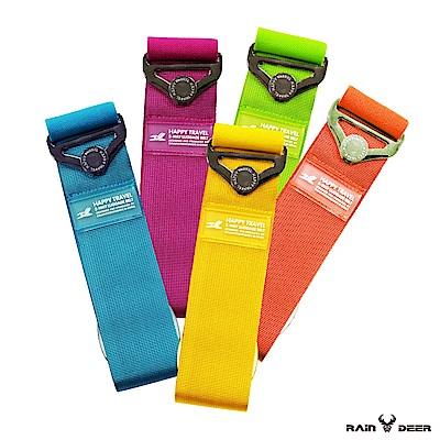 RAIN DEER 繽紛純色彈力行李箱束帶 (2入隨機出貨)