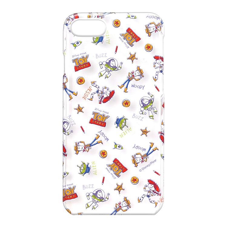 iPhone8/7 迪士尼透明彩繪系列(日本 海外限定版)-玩具總動員