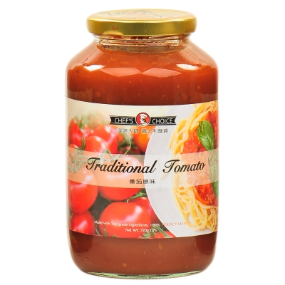 美味大師 義大利麵醬-蕃茄原味(720g)
