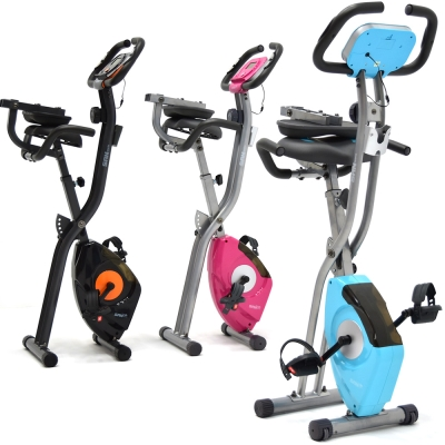 【SAN SPORTS】四角度飛輪式磁控健身車(超大座椅+舒適椅背)