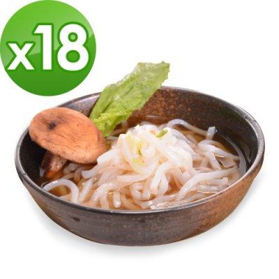 【樂活e棧】低卡蒟蒻麵 原味烏龍+濃湯(共18份)