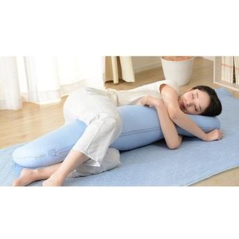ひんやりカバーが洗える抱きまくら 日本製 ひんやり カバー 洗える 涼しい 暑さ対策 抱き枕 抱きまくら 代引不可