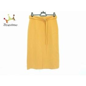 マルティニーク martinique スカート サイズ2 M レディース 美品 オレンジ   スペシャル特価 20190906