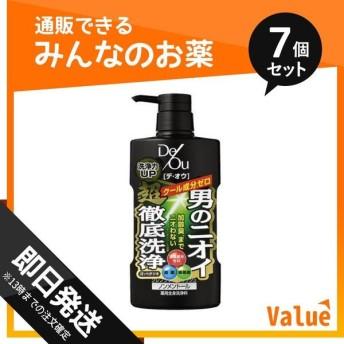 1個あたり980円 デ・オウ 薬用クレンジングウォッシュ ノンメントール 520mL (ポンプ) 7個セット