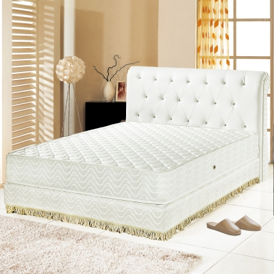 Ally愛麗 飯店用-乳膠抗菌3M防潑水護邊獨立筒床墊-單人3.5尺