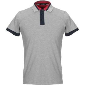 《期間限定セール開催中!》HISTORIC メンズ ポロシャツ グレー S コットン 100%