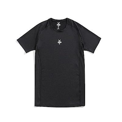 Y.A.S 吸濕排汗運動上衣(男款)-黑