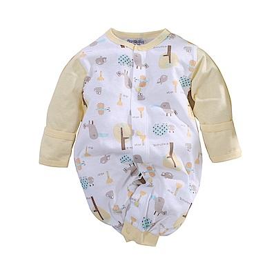 魔法Baby 薄款純棉兩用護手連身衣 a70207