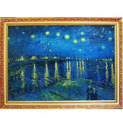 開運陶源《隆河上的星夜》 Vincent(98x73cm)