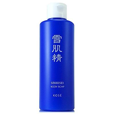 藍色雪肌精系列乳霜狀泡泡潔淨香氛身體肌膚
