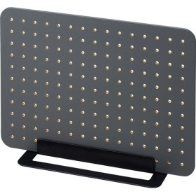 キングジム<KING JIM> 卓上収納ボード「PEGGY(ペギー)」 ペグボードセット 黒 PG400クロ