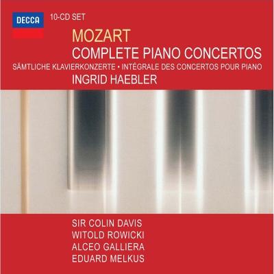 莫札特:鋼琴協奏曲全集(10CD)