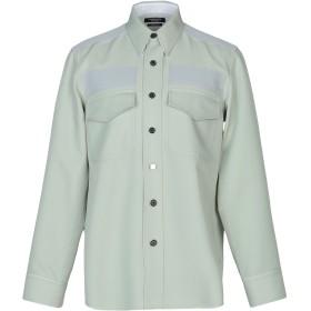 《送料無料》CALVIN KLEIN 205W39NYC メンズ シャツ ライトグリーン 52 ポリエステル 100%