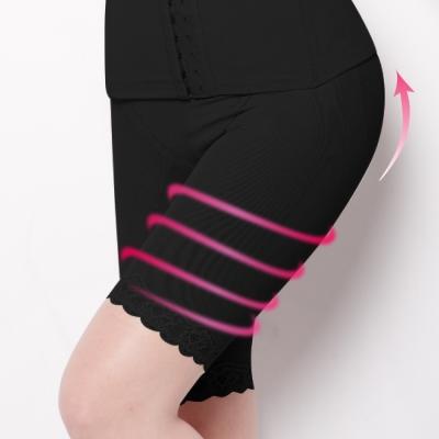 可蘭霓台灣製 麻辣翹俏臀重機能M-Q塑型褲 神秘黑