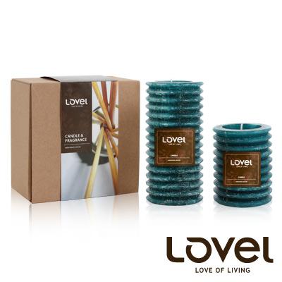 【LOVEL】香氛手工蠟燭組(燈籠系列-南洋)-A組