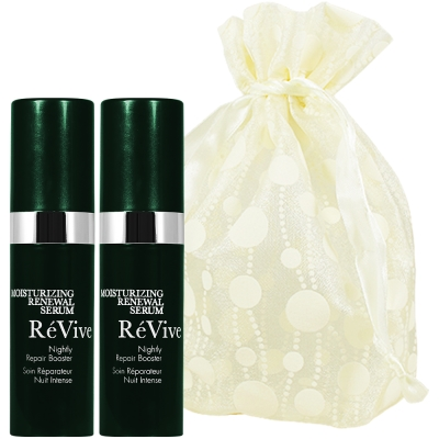 ReVive利維膚 光采再生亮白精華5ml*2旅行袋組