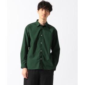 【オンワード】 SHARE PARK MENS(シェアパーク メンズ) ウォッシュドカラー シャツ グリーン 1 メンズ 【送料無料】