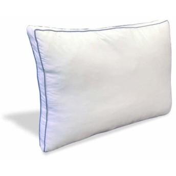 EiYU ウォッシャブル枕 抗菌防臭加工 サテン アイボリー 43x63x5cm ダニストップ生地使用