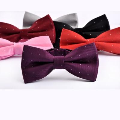 拉福  兒童領結糾糾點點小紳士專用領結(銀絲點點多色)