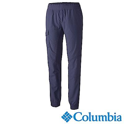 Columbia 哥倫比亞 女款-防曬UPF50快排長褲-深藍 UAK18150NY