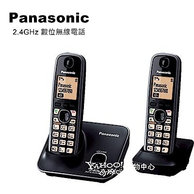 Panasonic 國際牌2.4GHz高頻數位大字體無線電話 KX-TG3712 (黑)
