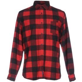 《期間限定セール開催中!》SELECTED HOMME メンズ シャツ レッド S コットン 72% / ポリエステル 14% / レーヨン 14%