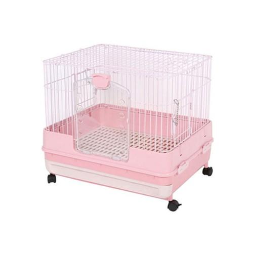 日本Marukan挑高抽屜式兔籠天竺鼠籠小動物飼養籠(粉色)【MR-995】【免運】『WANG』