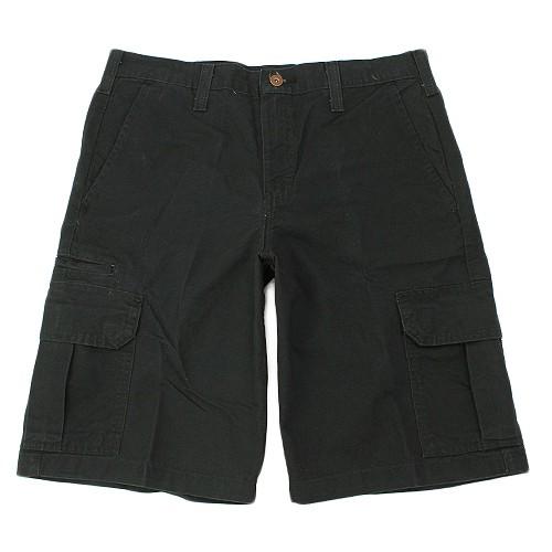 【DICKIES】DR251 11吋 中低腰直筒六袋 斜紋布 工作短褲 (BK 黑色) 化學原宿