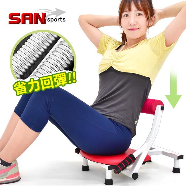 強效核心健腹機B003-001F美腹機仰臥起坐板.炫腹健腹器.伸展收腹機活力健身機.美背機挺腰機SAN SPORTS