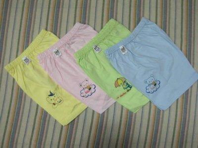 【lucy寶貝窩】A118 小三福 彩色褲~台灣製~90元起/件-24.26尺寸