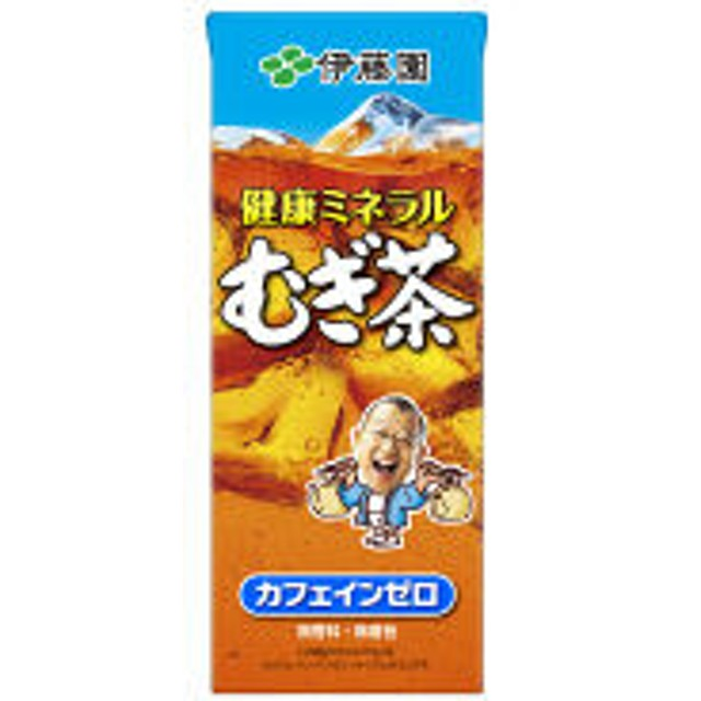 伊藤園 健康ミネラルむぎ茶(紙パック) 250ml 1箱(24本入)