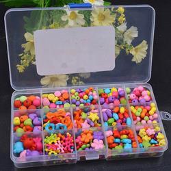 【2盒入】兒童益智DIY串珠玩具 手工編織女孩穿珠玩具