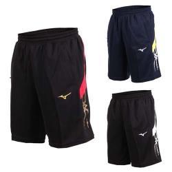 MIZUNO 男針織短褲-五分褲 運動短褲 訓練 慢跑 路跑 美津濃