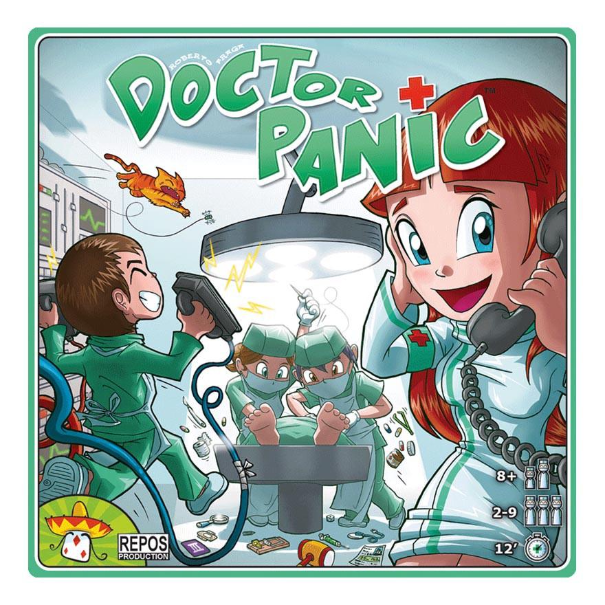 火線急救室 Doctor Panic 桌遊 桌上遊戲【卡牌屋】