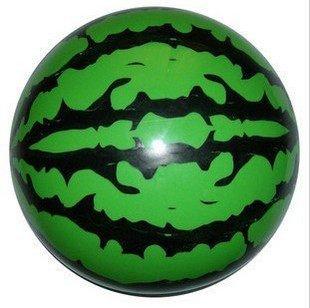 【地攤站】西瓜球 按摩球 貼標球 充氣皮球 軟球 波波球 夏天寶寶洗澡19元