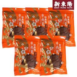 新東陽 原味牛肉乾230g *5大包