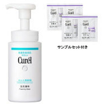 【数量限定】Curel(キュレル) 泡洗顔料 本体 150mL+エイジング化粧水・クリーム2回分セット 花王