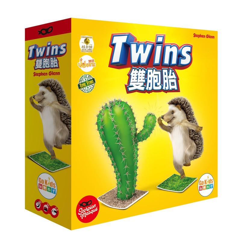 雙胞胎 Twins 繁體中文版 高雄龐奇桌遊