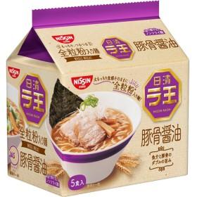日清ラ王 豚骨醤油 5食パック (490g)