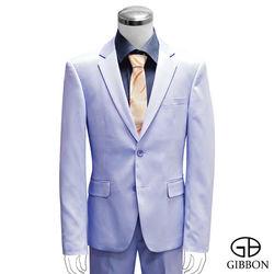 GIBBON 都會時尚修身西裝外套‧淡紫
