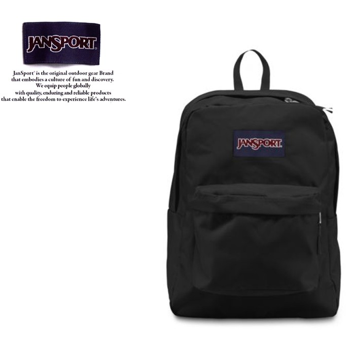 JANSPORT 後背包 SUPER BREAK JS-43501 黑色