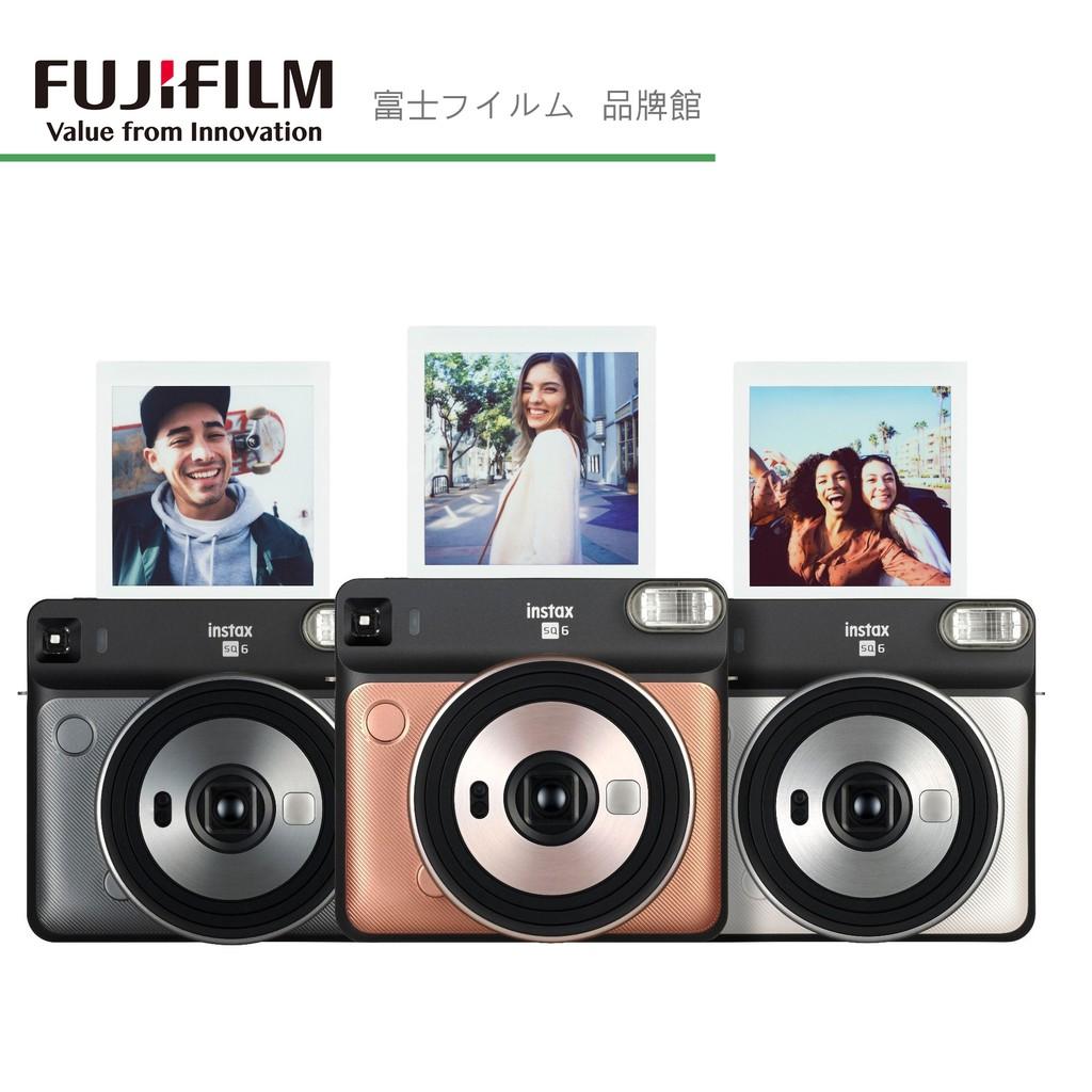 FUJIFILM 富士 INSTAX SQUARE SQ6 正方形 拍立得相機 公司貨 5色