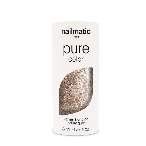 Nailmatic 純色生物基經典指甲油-LUCIA-閃耀金