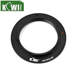 KIWIFOTOS副廠M42轉F鏡頭轉接環LMA-M42_NK(無檔板;M42鏡頭接到Nikon尼康F相機)M42-F M42轉NikonF