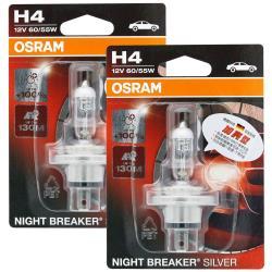 OSRAM 汽車原廠燈泡 加亮型100% (H4) 64193NBS 公司貨(2入)