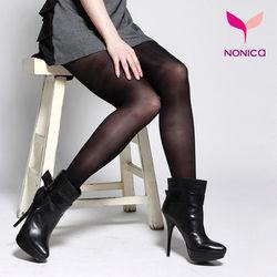 【Nonica諾妮卡】春夏時尚#140D 輕透膚雕塑翹臀耐勾全彈性褲襪(買5送1)