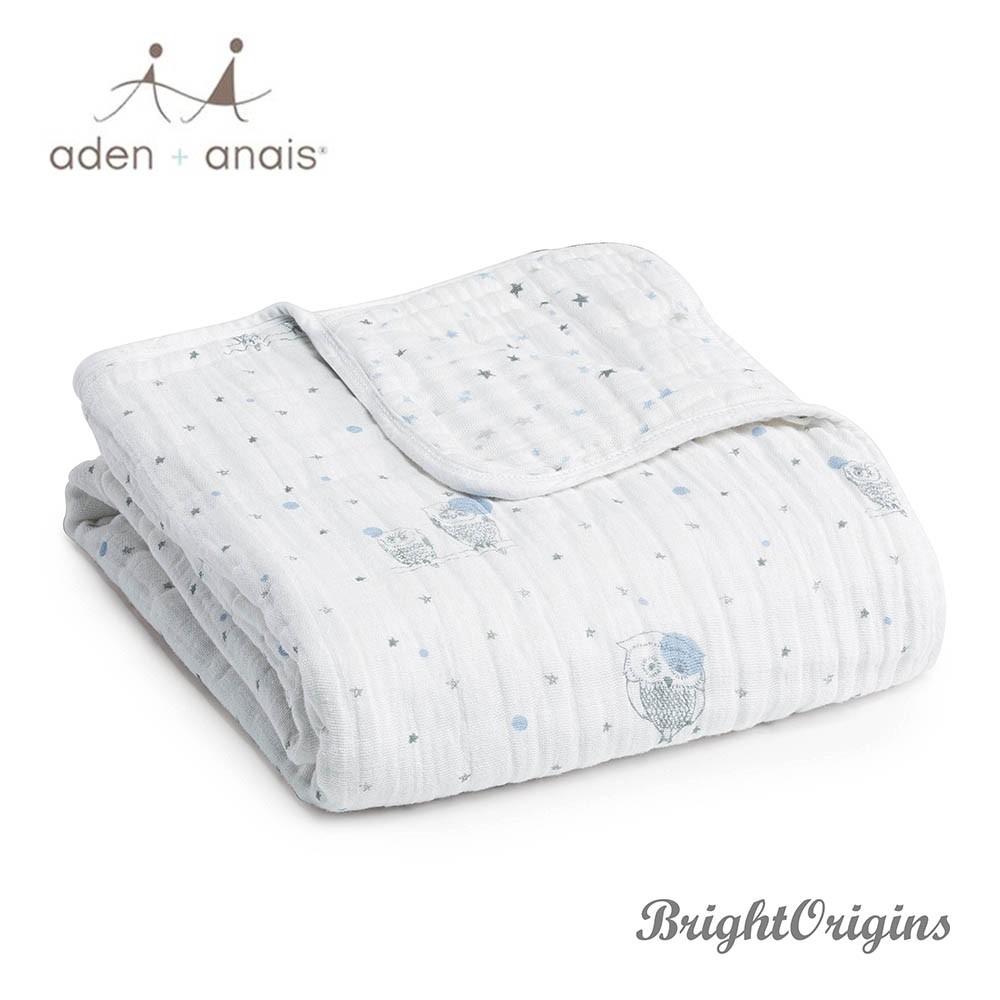 【aden+anais】純棉四層厚毯 夜空款 6036